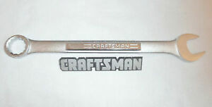 Craftsman Metric 12pt Combination Wrench MM Open Box Combination Wrenches Tools $15.79