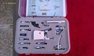 Snap On Sewing Foot Feet 15 Pieces Deluxe Set Janome New Home Memory Craft $26.50