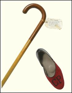 Cole PORTER (Composer): His cane and slipper!