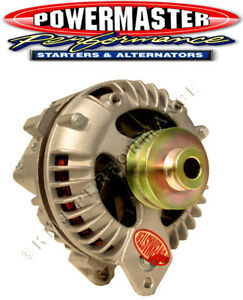Powermaster 7509 90 Amp Chrysler Square Back Alternator 2V-Pulley Natural Finish
