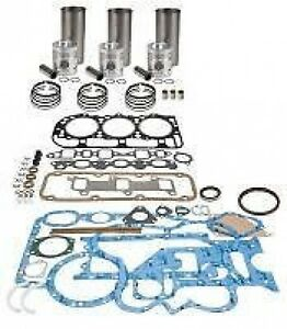 Massey Ferguson Basic  Engine Overhaul Kit w Perkins Gas 152CID 135 150