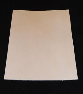 7 8 oz Veg Tan Cowhide Tooling Leather for Sheaths Holster Moccasin Soles Strops