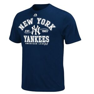 NY YANKEES ADULT NAVY DIAL IT UP T SHIRT XXL NEW amp; OFFICIALLY LICENSED $19.95