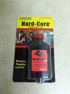 Hard Core Raccoon Lure 4 Oz. Wildlife Research Center Traps Trapping