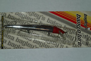 Bagley's Bang O Lure 6!! Extremley Rare Collectable Fishing Lure FRHS