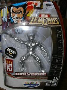 MARVEL LEGENDS WOLVERINE 25TH ANNIVERSARY TRU EXCLUSIVE $29.95
