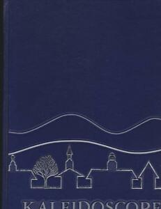 Middlebury College Vermont 1987 Kaleidoscope Yearbook Annual University VT