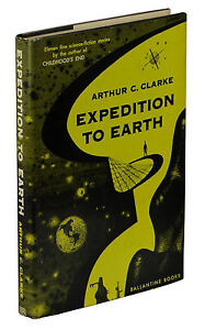 Expedition to Earth ~ SIGNED by ARTHUR C. CLARKE ~ First Edition 1st ~ 1953
