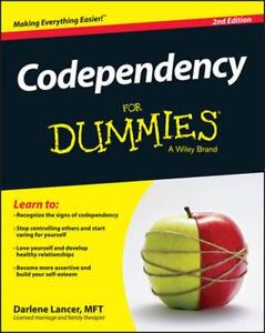 Codependency for Dummies by Darlene Lancer (English) Paperback Book Free Shippin