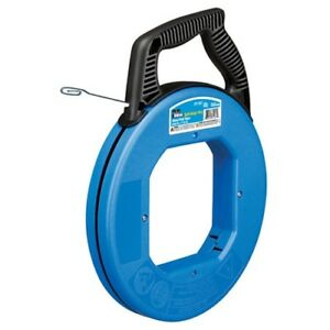 IDEAL 31-056 Fish Tape 120' Formed Hook Blued Steel