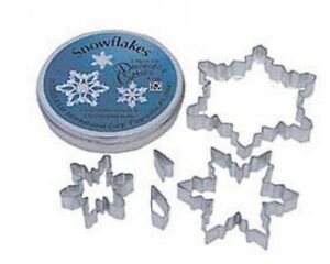 5 Piece Snowflake Cookie Cutter Set NEW $8.95