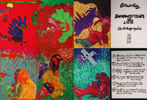 Guillaume Corneille Enchantments 1977 Set Six Signed Lithographs $17500.00