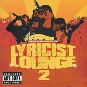 Various Artists : Lyricist Lounge - Vol.2 CD (2000)