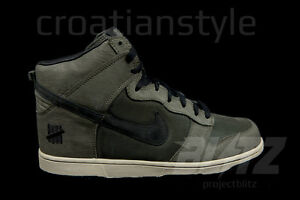 Nike Dunk PRM HI HIGH UNDEFEATED SP DEEP GREEN 6-11 BRING BACK PACK 598472-220
