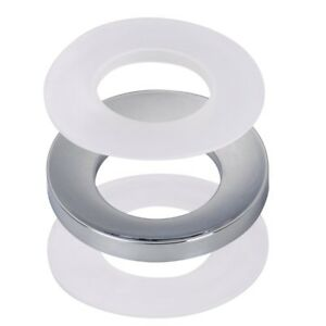 Sink Mounting Ring Chrome For Bathroom Glass Vessel Sink Drain Mount Support
