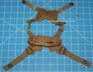 Helmet Chin Strap USMC Gentex Large Military Retention MICH ACH w P38  Genuine
