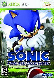Sonic the Hedgehog XBOX 360 Action Adventure Video Game