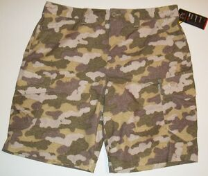 New Under Armour Men's Ironsides Cargo Golf Shorts Choose Size Camo Camouflage