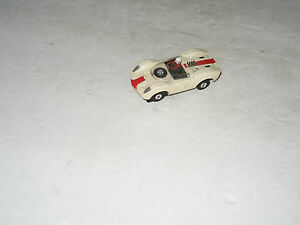 t jets ho scale mclaren e1va white slot car