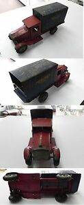 rare 1920s corp st louis delivery truck vg