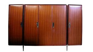 Silvio Cavatorta design wardrobe vintage years '50 in perfect condition rare..