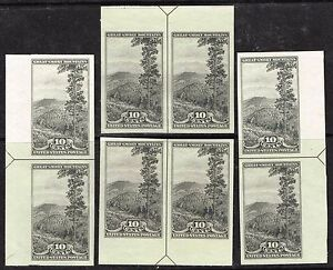 #765 ARROW PAIR SET 1935 10 CENT PARKS FARLEY ISSUE MINT NO GUM AS ISSUED