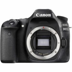Canon EOS 80D DSLR Camera (Body Only) 1263C004