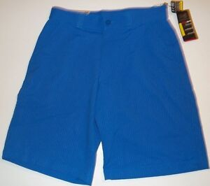 New Under Armour Men's Bent Grass Pinstriped Golf Shorts Choose Size Royal Blue