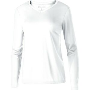 Holloway Ladies Spark 2.0 Long-Sleeve Performance T-Shirt. 222721