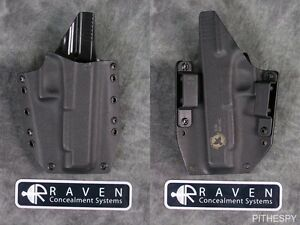 NEW RAVEN CONCEALMENT GLOCK 34 35 COMPETITION PHANTOM FULL SHIELD KYDEX
