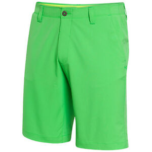 New Under Armour Men's Match Play Golf Shorts Choose Size Green Energy MSRP $65