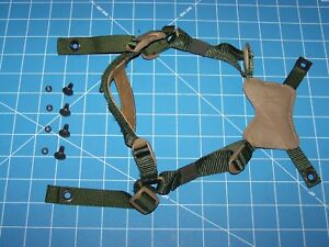Helmet GENTEX Chin Strap USMC Issue Large Xlge Military Retention MICH ACH w P38