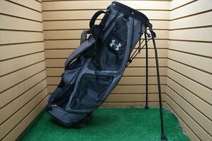 VERY NICE Under Armour Golf Lightweight Stand Bag 6-Dividers BlackSlate