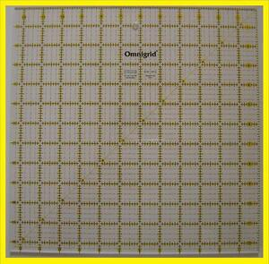 Omnigrid Yellow amp; Black 12 1 2 inch x 12 1 2 inch Square Ruler for Quilting $43.50