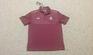 *NEW W TAGS* Under Armour Loose Boston College Eagles Golf ShirtPolo L HEATGEAR
