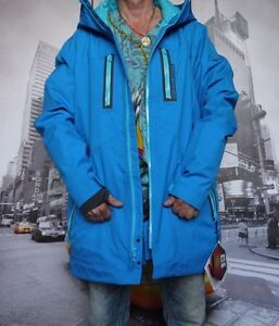 Under Armour coldgear infrared enyo shell jacket BLUE MEN'S XL RECCO 20k20k