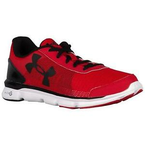 Boy's Toddler UNDER ARMOUR SPEED SWIFT 1266303 Red Athletic Casual Shoes New