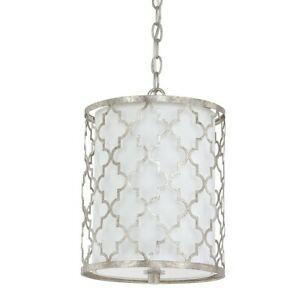 Capital Lighting Ellis 2 Light Mini-Pendant Antique Silver - 4544AS-579