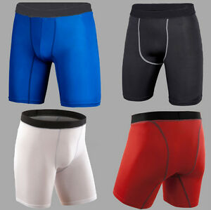 Men Sport Compression Performance Trunks Shorts Gym Skin Under Armour Base Layer
