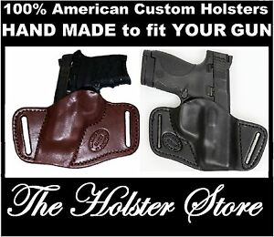 SOB Custom Fit YOU CHOOSE:ColorRHLH-mag&MORE OWB Small of the Back Gun Holster