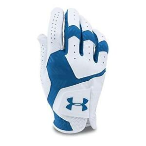 Under Armour Men's CoolSwitch Golf Glove WhiteSquadron Left MediumLarge New