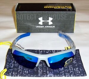 Under Armour Igniter 2.0 Satin GrayBlue FrameGrayBlue Multiflection Lens