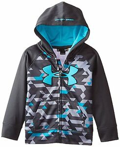 UNDER ARMOUR Toddler Boy's AF BLITZ HOODIE ** ANTHRACITEMULTI - 2T ** NWT