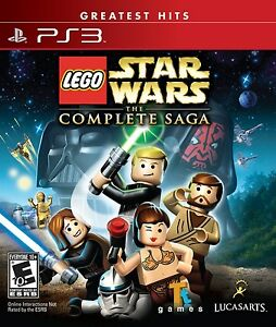 LEGO Star Wars: The Complete Saga [PlayStation 3 PS3 Greatest Hits Action] NEW