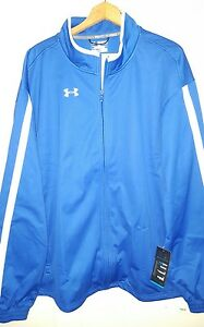 Under Armour Coldgear Zip Softshell Track Jacket: 4XL (NWT) 1238918
