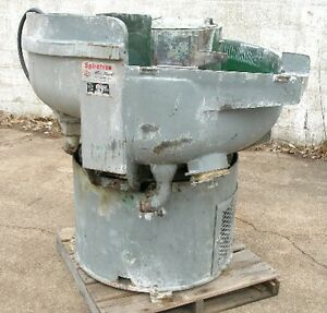 Roto Finish Model ST8 Bowl Type Vibratory Finisher