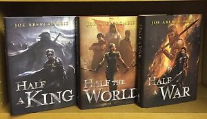 Half A KingThe WorldA War - Joe Abercrombie *All 111400 + SignedLinedDated*
