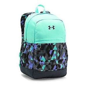Under Armour Girls' Favorite Backpack Stealth GrayCrystal One Size New