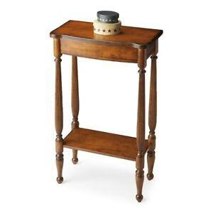 Butler Whitney Antique Cherry Console Table Antique Cherry 3011011
