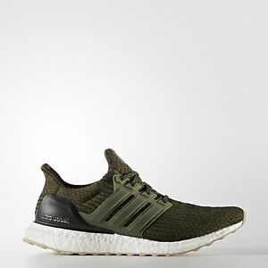 Adidas ultra boost 3.0 Night Cargo Clay Brown Running Shoes Men's Size 8.5